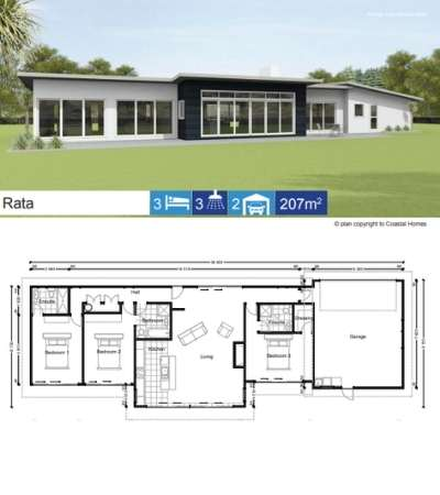 Coastal Homes Rata